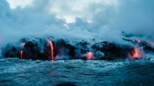 Big Island Hawaii Lava Free HD Image