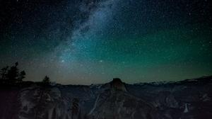 Milky Way Yosemite National Park HQ Image Free Wallpaper