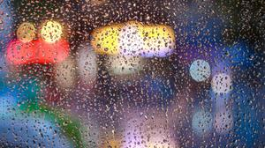 Raindrops On Glass Window Hd Download Free Image