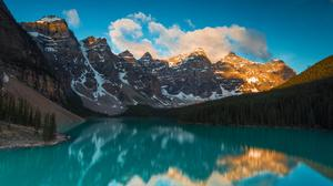 Moraine Lake Sunrise Download Free Image