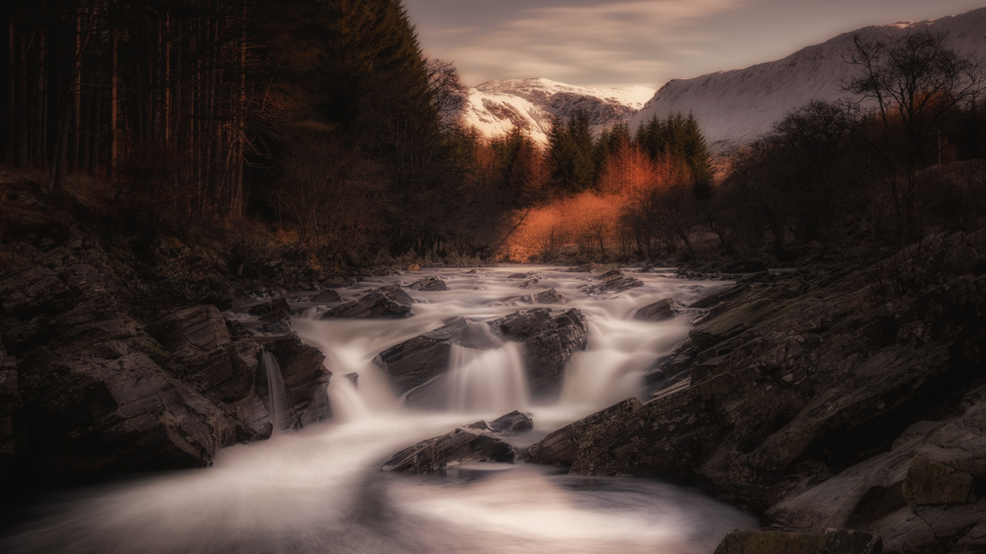 rapids,creation,scene,autumn,natural state,existence,natural phenomenon,landscape,mountain,landscape,,state of nature,orchy,scotland,snow,long,longexposure,forest,scenery,nature,macrocosm,fall,world,samsung,universe,cosmos,river
