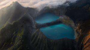 Vulcano Lakes Wallpaper Download Free