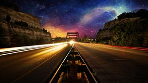 Nebula Evening Photo Manipulation Light Trails Long Exposure Free Transparent Image HQ