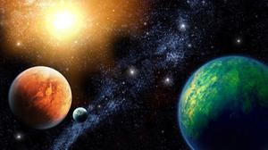Planets Space HD Image Free Wallpaper